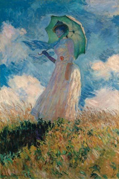 Claude Monet Kobieta Z Parasolką Impresjonizm To Epoka